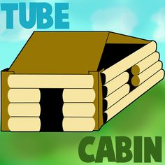 How to Make Cardboard Tubes Log Cabin for Abe Lincoln on Presidents Day   - Pinned by @PediaStaff – Please Visit ht.ly/63sNtfor all our pediatric therapy pins