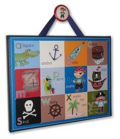 timmi room, camden bedroom, toddler pirate room, canvas wall art, art prints