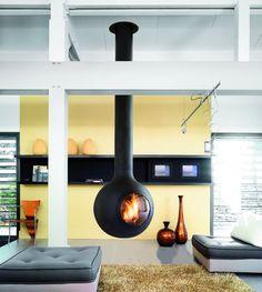 Modern Interior Fireplace