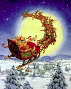 Our daddy used to read us The Night Before Christmas every Christmas eve...