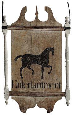 colonial tradesign...