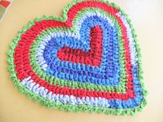 rag rugs, crochet rugs, blossom dream, appl blossom