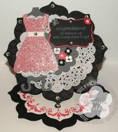 easels, doili, suall dress, paper craft, su dress, stampin up easel cards, dresses, the dress, digital cameras