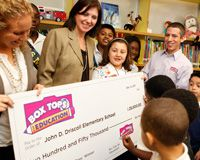 The Reality of this Win is Clicking In! - Box Tops for Education