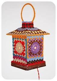 decorar pantalla de lampara a crochet - Buscar con Google