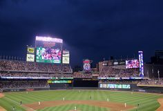 Summer Bucket List: go to a night game at Target Field with my best friend.