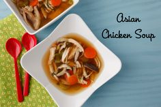 Asian Chicken Soup: When Sick + Rundown on Weelicious