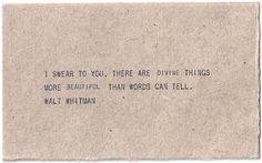 waltwhitman, divin thing, thought, inspir, word, beauti, walt whitman, quot, live