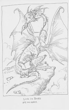 Lost in Books: Part two by Chris Riddell