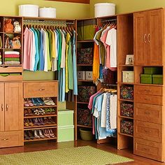 I could do this in my walk-in closet