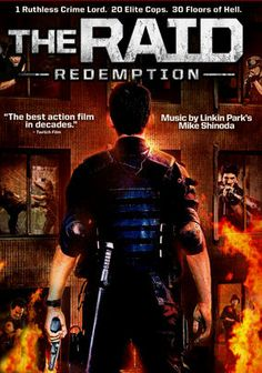 The Raid: Redemption is a action packed Indonesian movie about a SWAT team that gets trapped inside a building run by a crime lord. They have to fight their way out of this building full of bad guys. The movie never stops as it tells the story of corrupt cops and armed villains. One of better martial art based movie with tight storyline and great action.