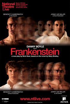Danny Boyle's 'Frankenstein' at The National Theatre starring Benedict Cumberbatch and Johnny Lee Miller.