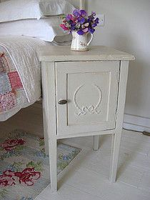 Gray distressed furniture on pinterest - Gray shabby chic furniture ...