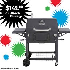 Get this charcoal grill and other great deals at Lowe's on Black Friday!