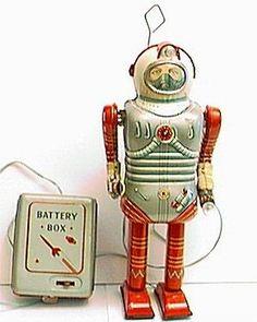 Vintage Cragstan Space Man Robot