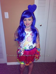 Last Minute Katy Perry Costume for a Girl... Coolest Homemade Costume Contest