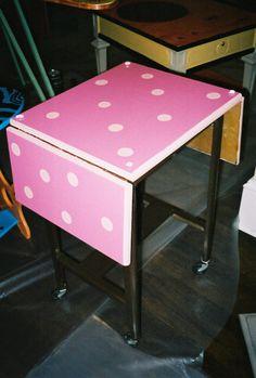 """""""typewriter table"""""""