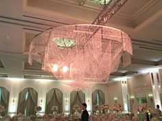 Julie + Timmy | Chandelier | @fsdallas wedding | @beyond100