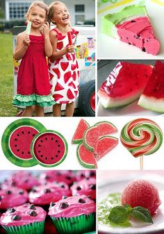 watermelon party :)