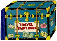 Travel Paint Book