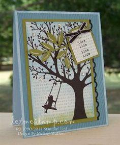 stamp sets, tree swings, news, pet, growing up