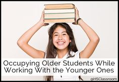 Occupying Older Students While Working with Younger Children