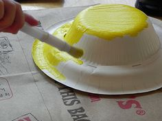 hat making craft. i would make for Easter or Mothers Day