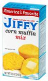 """Prepared """"JIFFY"""" Corn muffin mix plus a can of seasoned pinto beans is a great meal under $2 for 2-3 people. Seriously."""