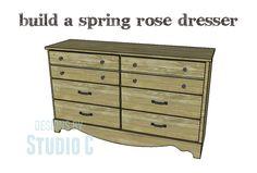 Build a Spring Rose Dresser