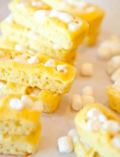 Make your own Twinkies using yellow cake mix.
