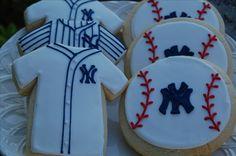 Yankees cookies