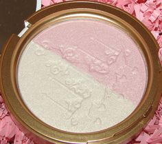 Too Faced Candlelight Glow Highlighting Powder Duo - Summer 2012 - click through for swatches and review
