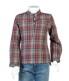 Camisa Niña Cuadros, Otoño Invierno 2014/2015