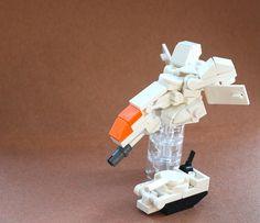 LEGO Micro gunship and tank