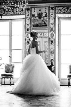 Stunning full skirts, wedding dressses, princess style, ball gowns, princess dresses, wedding dreams, romantic weddings, bride, princess wedding dresses