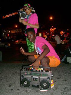 80s hiphop look