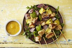 Avocado and a Mango Honey Mustard Glaze #Recipes #Foodie