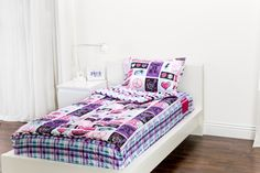Zipit Bedding Mix 'N Match Rocker Princess with Sweet Stuff. Zipit Bedding is America's FIRST all-in-one zippered bedding that will forever change the way people, of ALL ages, make their beds! Simply put, it works like a Sleeping Bag… you just Zipit!