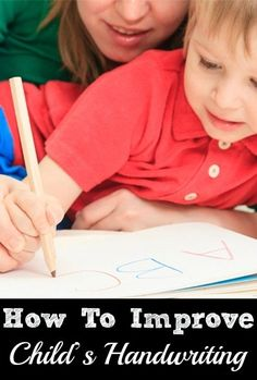 5 Easy Ways To Improve Your Child's Handwriting