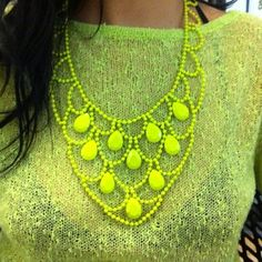 Neon love  http://www.nastygal.com/accessories%2Djewelry%2Dnecklaces/neon%2Dcrystal%2Dnecklace