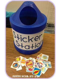 Classroom Management ~ Sticker Station