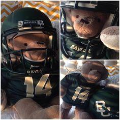 Cute idea for a homemade #Baylor Bear!