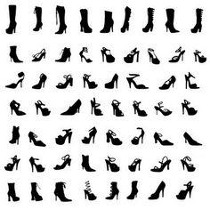shoes - SVG  - use VINYL
