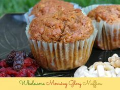 Wholesome Morning Glory Muffins-Energizer Bunnies' Mommy Reports-#Recipe #Breakfast #Muffins