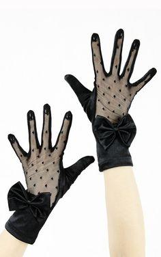 Restyle Gothic Eliza Gloves