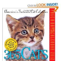 365 Cats Page-a-Day 2012 Calendar (Page a Day Calendar) $12.59