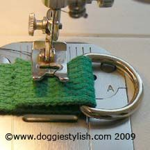 DIY martingale dog collar-  am making one for Betsy, Chip, and Sam.