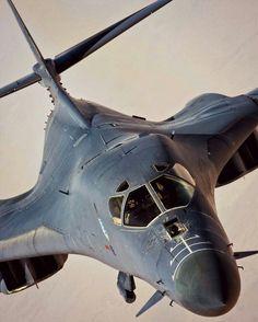 pinterest.com/fra411 #air #bomber - Rockwell B-1 Lancer
