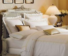 his heirloom-quality bedding provides exquisite quality that will continually impress night after night after night.