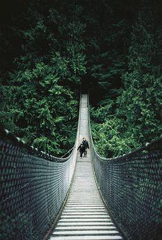 Capilano Suspension Bridge, Vancouver